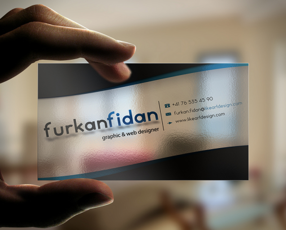 Business Card Transparent